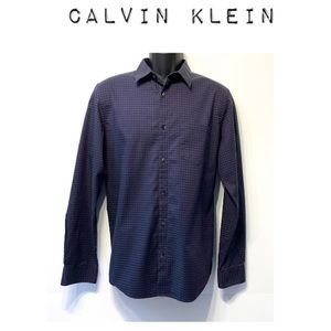 Calvin Klein Plaid button down